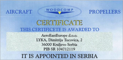 Certificate Woodcomp
