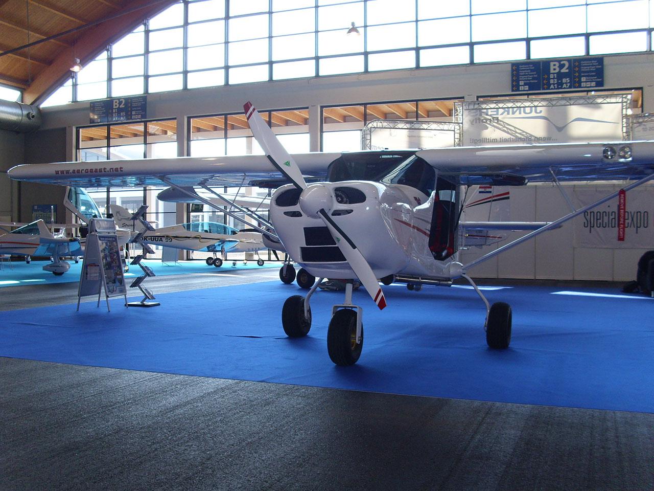 Aero-East-Europe   Serbian industry light aircraft